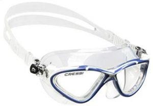 76bf3ecc1d Nuestra próxima propuesta son las Cressi Skylight, unas gafas de nadar que  están a mitad de camino entre las gafas de máscara y las denominadas como  ...