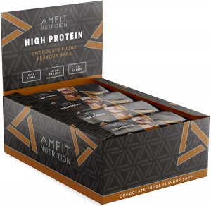 Amfit Nutrition Barrita de proteina baja en azucar