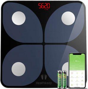 Báscula de Baño Digital Báscula Inteligente Bascula Grasa Corporal Bluetooth