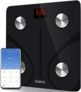 Bascula de Baño Digital Grasa CorporalRENPHO Balanza Bluetooth
