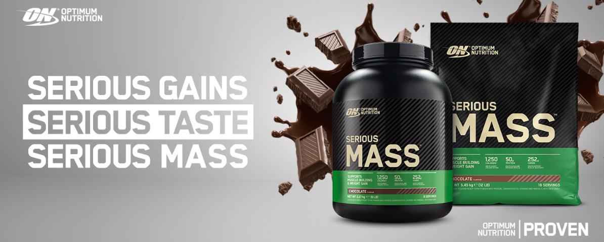 Batido de Proteinas Optimum Nutrition ON Serious Mass Polvo Mass Gainer