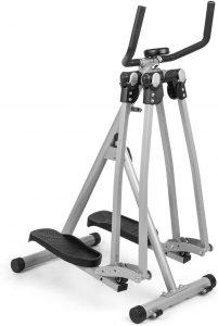 CapitalSports Crosswalker Air-Walker - Bicicleta elíptica Movimiento Vertical y Horizontal