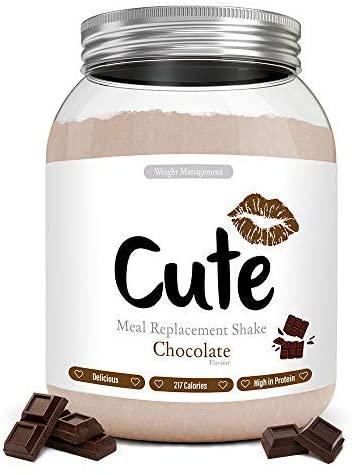 Cute Nutrition Batido Sustitutivo de Comida Sabor Chocolate