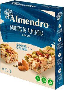 El Almendro - Barritas de Almendra a la Sal - 4x21 gr - Sin Gluten