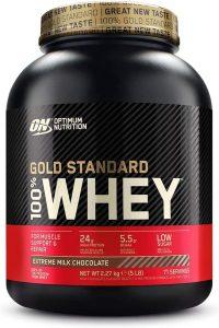 Optimum Nutrition ON Gold Standard 100 Whey Proteina Glutamina y Aminoacidos