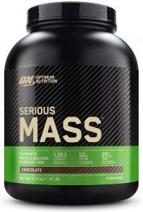 Optimum Nutrition ON Serious Mass Proteina en Polvo Mass Gainer Alto en Proteína