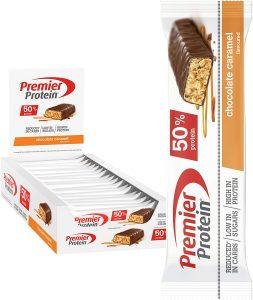 Premier Protein Protein Bar Chocolate Caramel