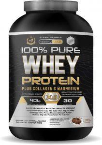 Whey Protein | Proteina whey pura con colágeno + magnesio